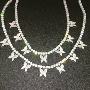 Elegant Butterfly Necklace