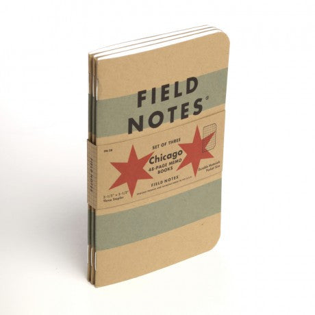 Field Notes - Chicago Three Pack