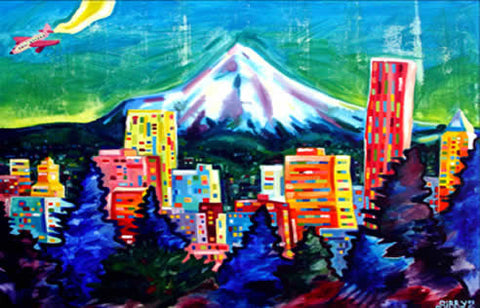 """Mount Hood in Summer"" Print"
