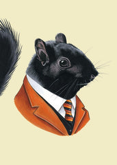 "Ryan Berkley - ""Black Squirrel"" Print"