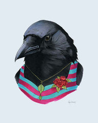 "Ryan Berkley - ""Crow Lady"" Print"