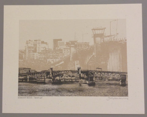 "Beth Kerschen - ""Portland Bridges"" Set of Prints"