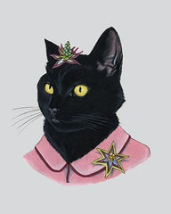 "Ryan Berkley - ""Black Cat lady"" Print"