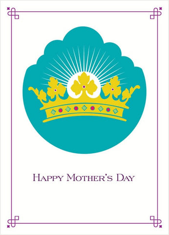 Royal Crown Mother's Day Card