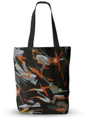 We Are Lions - Black Satin Tote