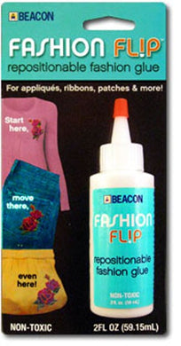Fashion Flip: Repositionable Fashion Glue, 59ml ( 2 oz)