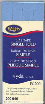 Bias Tape Single Fold - 13mm x 3.7M