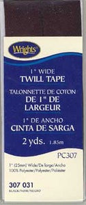 "Wrights 1"" Wide Twill Tape"