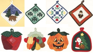 A Year Of Pot Holders by Barbara Clayton 2