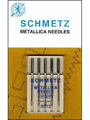 Schmetz Metallic Needles, 5 count
