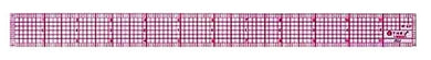 Westcott C-THRU (Transparent) 8ths Graph Ruler, 12