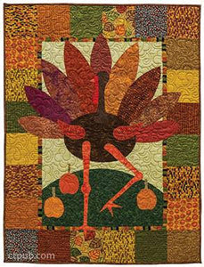 Festive Fall Quilts: 21 Fun AppliquŽ Projects for Halloween, Thanksgiving & More by Kim Schaefer 3
