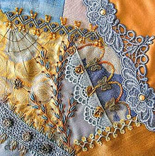 The Visual Guide To Crazy Quilting Design: Simple Stitches, Stunning Results by Sharon Boggon 2