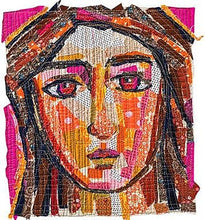 Making Faces In Fabric: Workshop with Melissa Averinos -ÊDraw, Collage, Stitch & Show 3