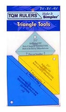 "Triangle Corner Trimmer Tools, 3 counts: 2.5"", 3.5"" and 4.5"""