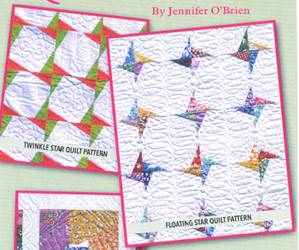 Large Twinkle Star and Floating Star Ruler/Template (Bonus Pattern Included)