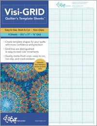 Visi-Grid Quilt Template - Sheets 8.5