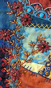The Visual Guide To Crazy Quilting Design: Simple Stitches, Stunning Results by Sharon Boggon 4