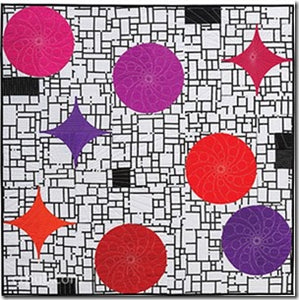 Double Vision Quilts: Simply Layer Shapes & Color for Richly Complex Curved Designs - By Louisa L. Smith 2