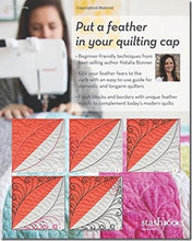 Visual Guide To Free-Motion Quilting Feathers: 68 Modern Designs - Professional Quality Results on Your Home Machine by Natalia Bonner 2