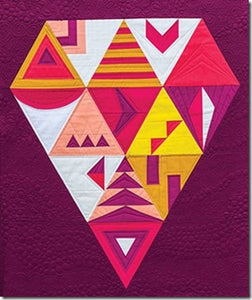 Modern Triangle Quilts: 70 Graphic Triangle Blocks 11 Bold Samplers by Rebecca Bryan 2