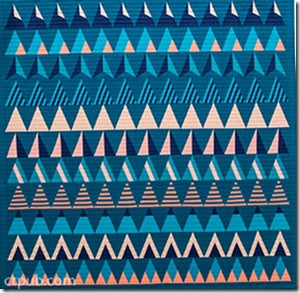 Modern Triangle Quilts: 70 Graphic Triangle Blocks 11 Bold Samplers by Rebecca Bryan 4
