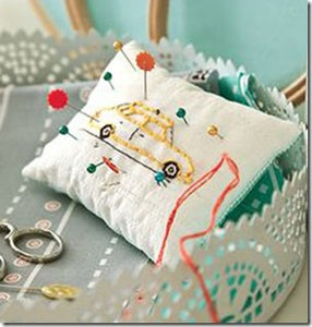 Make Pincushions: 12 Darling Projects to Sew 4