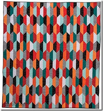 Stripe Quilts Made Modern:æ12 Bold & Beautiful Projects - Tips & Tricks for Working with Striped Fabrics by Lauren S. Palmer 2