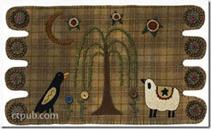 Robin Vizzone's Peculiar Primitives - A Collection Of Eclectic Projects: Hand-Dyed Wool & Embroidery 5