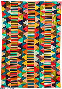 Improv Patchwork: Dynamic Quilts Made with Line & Shape by Maria Shell 5