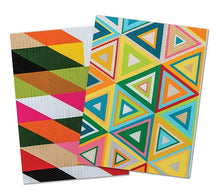 Modern Quilts Notebooks - Set of 3 Journals 4