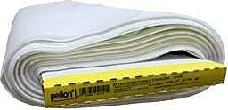 "Two-Sided Fusible Stabilizer, White, 51cm (20"") Wide x 18.29m (20 Yards), 100% Polyester (Roll)"