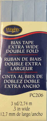 Bias Tape Extra Wide Double Fold 13mm x 2.75M