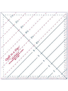 "6 1/2"" Triangle Square Up Ruler"
