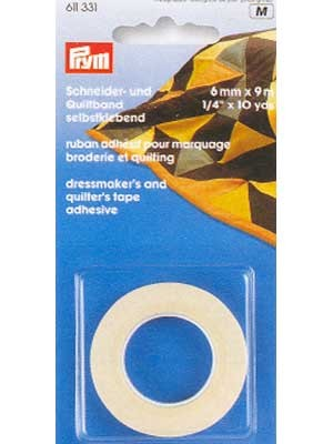 Dressmaker'S And Quilter'S Tape, 6Mmx9M