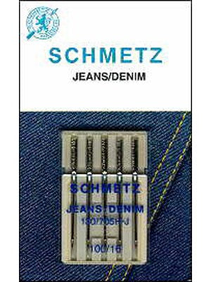 Schmetz Denim/Jeans needles, 5 count