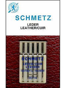 Schmetz Leather Needles, 5 count