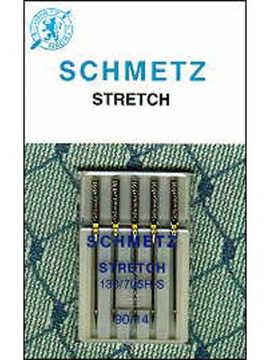 Schmetz Stretch Needles, 5 count