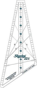 Squedge 22.5 Degree Tool/Ruler, Instructions & Bonus Pattern included