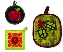52 Playful Pot Holders to Applique - Delicious Designs for Every Week of the Year By Kim Schaefer 2