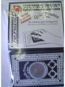 Quilt Pounce Pad with White Chalk Powder - Iron-Off