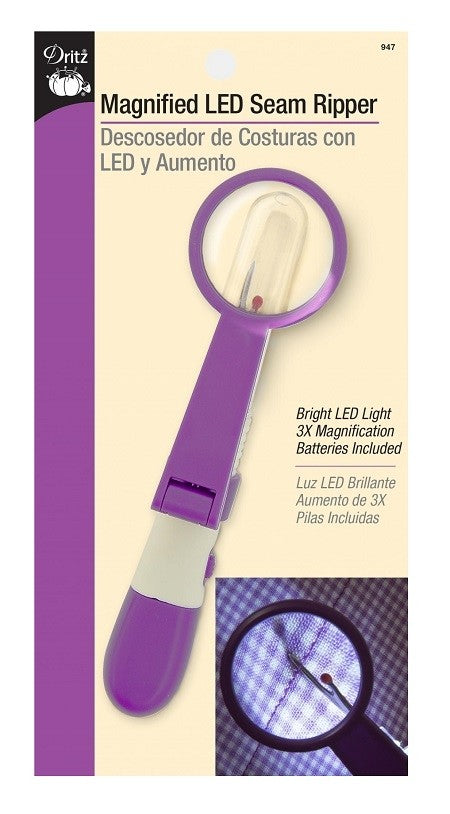 Dritz Magnified LED Seam Ripper