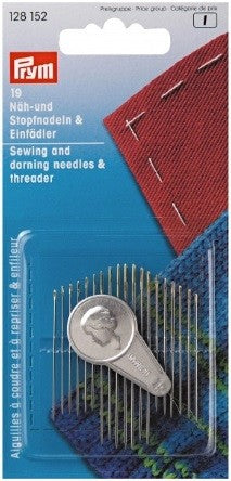 Prym Sewing and Darning Needles with Threader