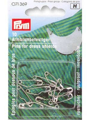 Safety Pins for Dress Shields