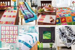 Stack Slash & Sash Quilting - 10+ Unique Projects 2