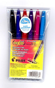 "FriXion ""Ballpoint"" erasable rolling ballpoint pen, 0.7MM, Primary Set"