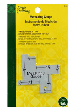 Dritz 14-In-1 Measuring Gauge