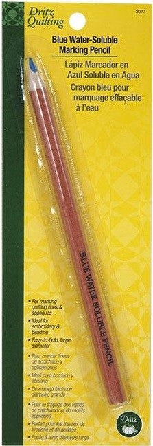 Blue Water-Soluble Marking Pencil,1 pencil per pack