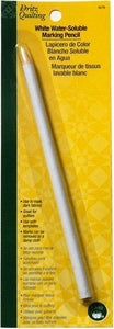 White Water-Soluble Marking Pencil,1 pencil per pack