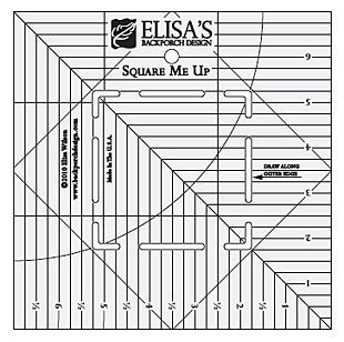 Square Me Up Ruler: Designed to be used with 10